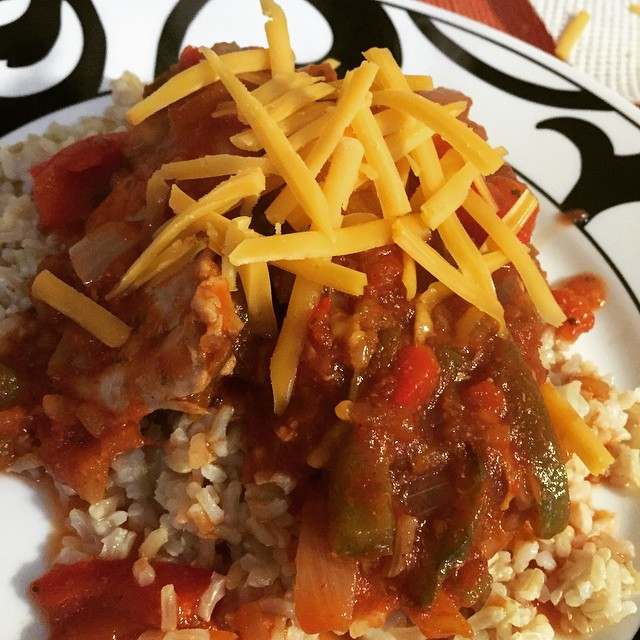 Deirdre's Crock Pot Mexican Chicken